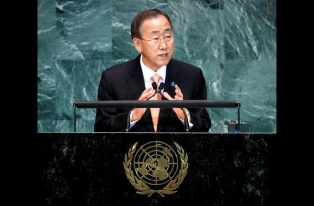 Ban Ki Moon Secretario General de la ONU