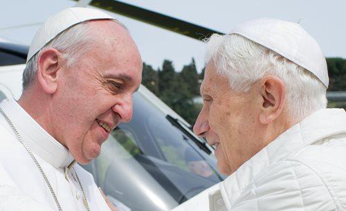 Francisco y Benedicto XVI