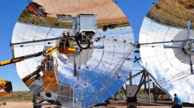 Energía solar en Desierto de Kalahari