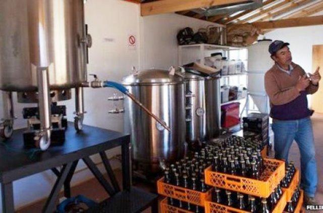 Emprendimiento sustentable de cerveza artesanal. Foto Felllipe Abreu
