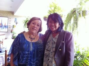 Zandra Pedraza y Violeta Siem Wong