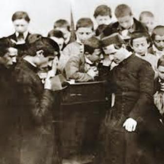 El oratorio acercaba a los jóvenes a Dios y los valores de la Fe