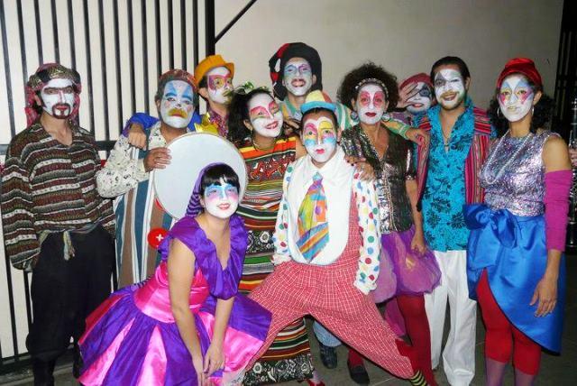 El Circo mas Invisible del Mundo.Teatro para niños y jóvenes. Foto: TET