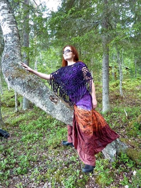 Katariina Vuorinen en la naturalza