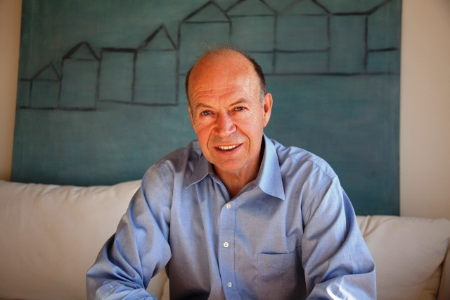 El científico James Hansen, 'pionero' del cambio climático en su casa de Nueva York. Foto: ISAAC HERNÁNDEZ HERRERO