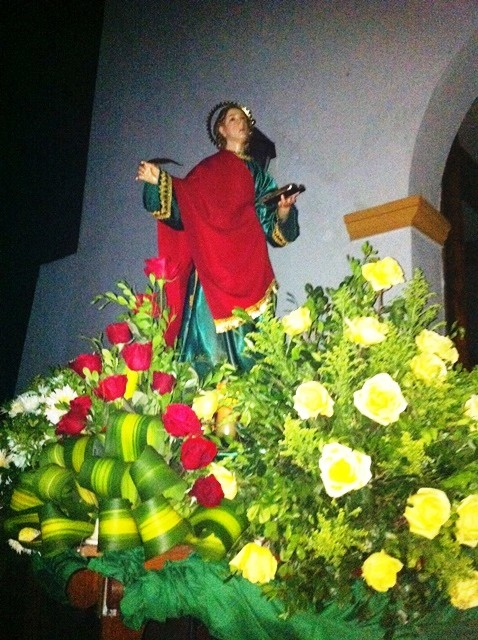 San Juan Evangelista. Foto Marisela Valero