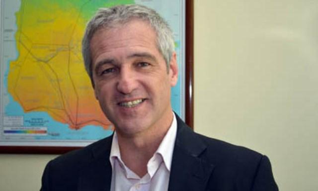 Ministro de Energía de Uruguay, Ramón Méndez. Foto www.dne.gub.uy