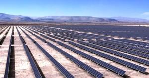 Chile: La planta fotovoltaica de Atacama 1, el mayor complejo solar de América Latina. Foto: www.noticiasambientales.com.ar