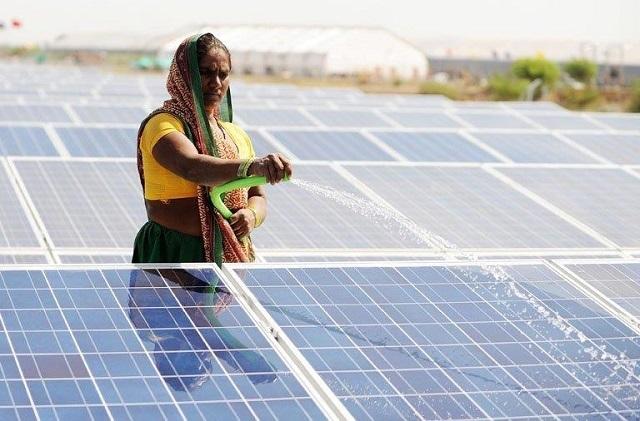 La India también lidera en energías limpias