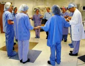 Médicos y enfermeras se suman a la práctica energética