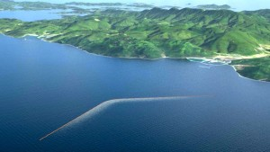 Limpiando el océano