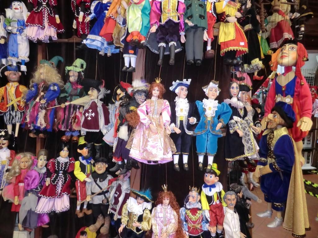 Marionetas en Praga, Checoslovaquia