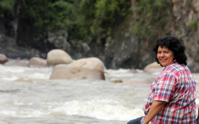 Berta Cáceres ambientalista hondureña