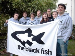 Parte del equipo de The Black Fish. Foto: The Black Fish