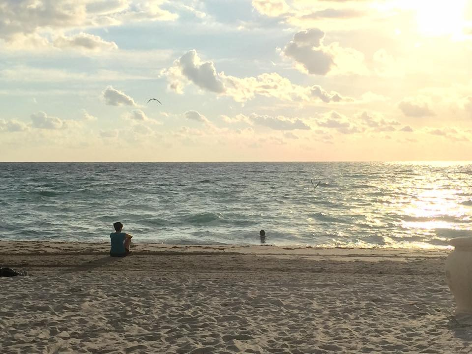 Hollywood Beach. Foto: Raiza Perrault