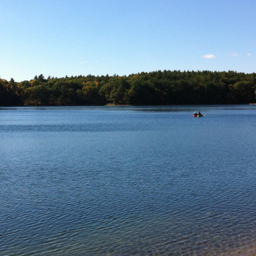 Lago Walden Pond, USA. Foto: Marisela Valero