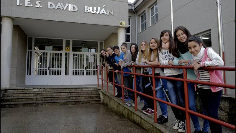 Instituto David Buján de Cambre.Foto: La Voz de Galicia