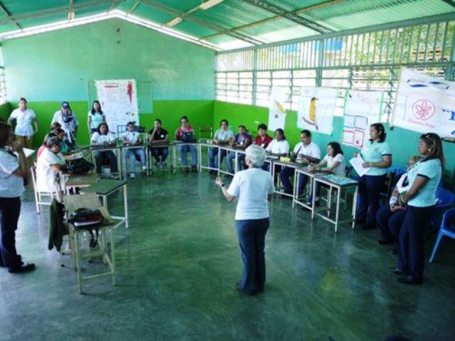 Las aves entran a las escuelas. Foto cortesia Audubon de Venezuela