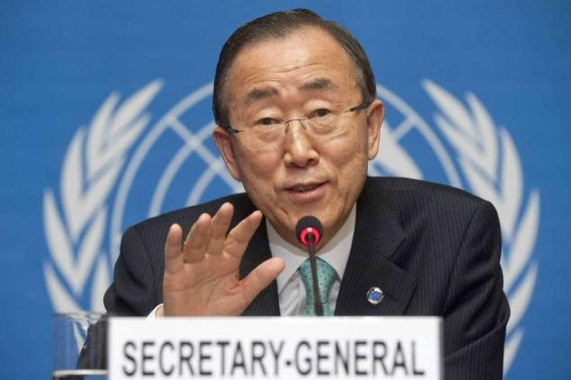 Ban Ki-moon, Secretario Generakl de la ONU
