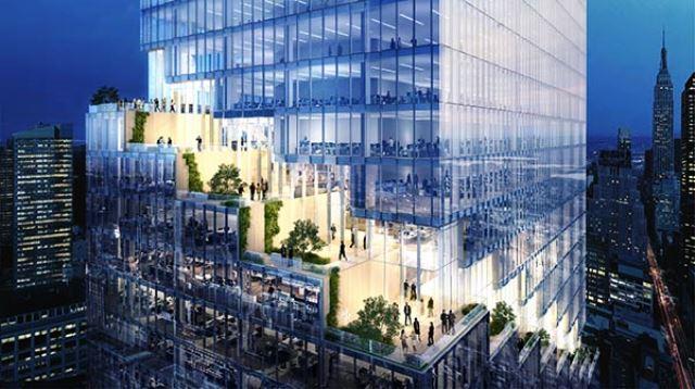 The Spiral una nueva torre de cristal a levantarse en Manhattan