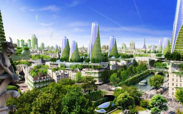 Vincent Callebaut Reinventer Paris