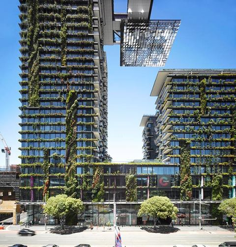 Jean Nouvel, One Central Park en Sydney