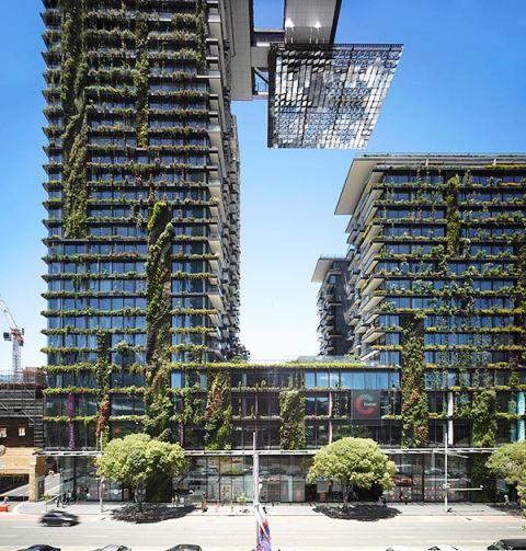 Jean Nouvel, One Central Park en Sydney