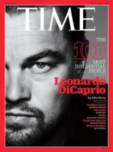 portada de Time de Leonardo DiCaprio