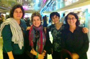 María Elena Ramos con el equipo de Planeta VItal. Foto Gina Saraceni
