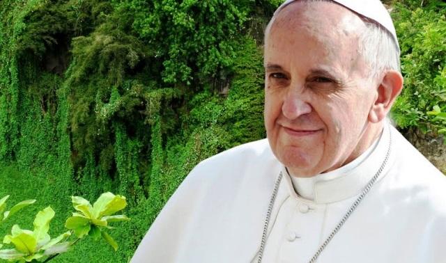 Papa Francisco ecológico- Foto cortesía Aleteiatopic