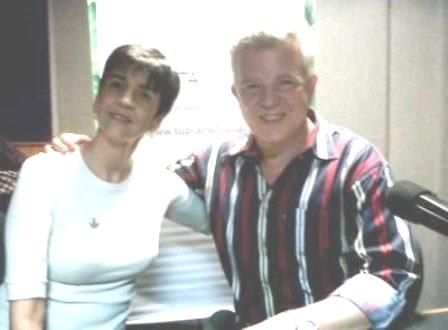 Oscar Misle de CECODAP con Marisela Valero