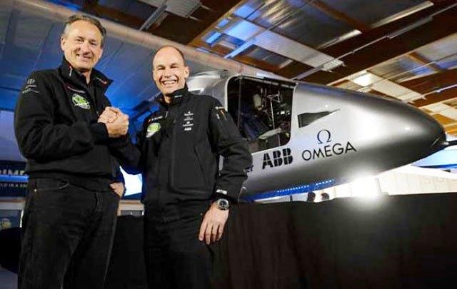 Pilotos del Solar Impulse recibirán alimentación de Nestle