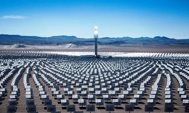Energía solar en California