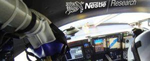 Nestlé utilizará sus fórmulas para adulto mayor para alimentar a tripulación de Solar Impulse