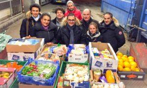 Organizaciones voluntarias reparten estos alimentos antes de su vencimiento