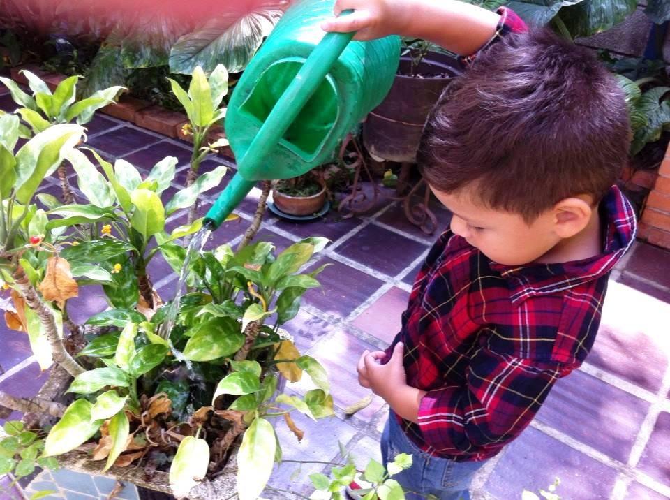 Educar desde la infancia para formar Ecogenios. Foto Marisela Valero