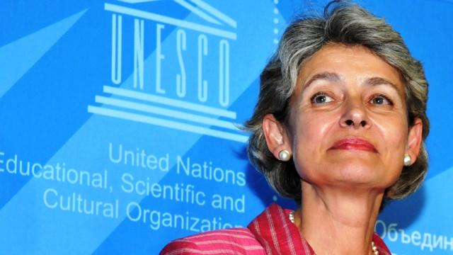 Irina Bokova, Directora General de la UNESCO