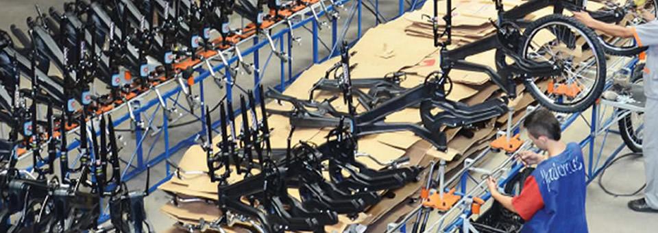 Fabricando la bicicleta ecológica