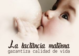 La lactancia materna garantiza calidad de vida