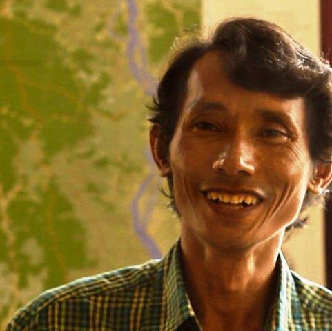Chut Wutty, kampucheano, asesinado en 2012.