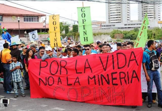 Protesta popular en Honduras