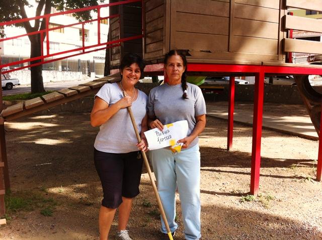 Isabel Figueiras y Malú Navas súper participativas