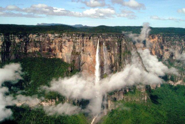 Salto Angel, Auyantepuy, Parque Nacional Canaima, Venezuela