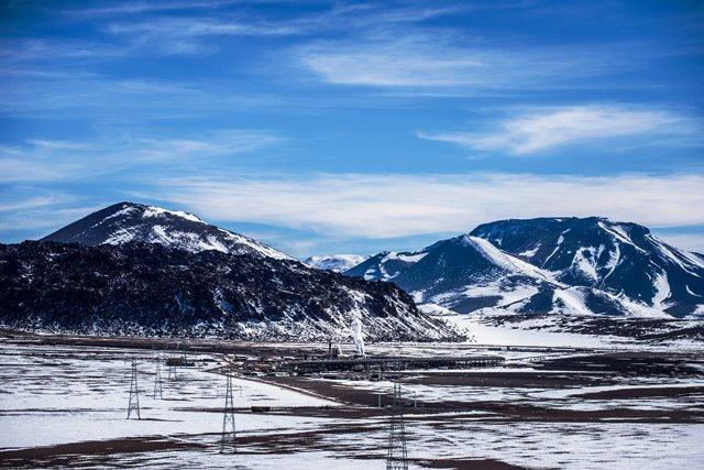 Cerro Pabellón, la primera planta geotérmica a casi 5 mil metros de altitud.
