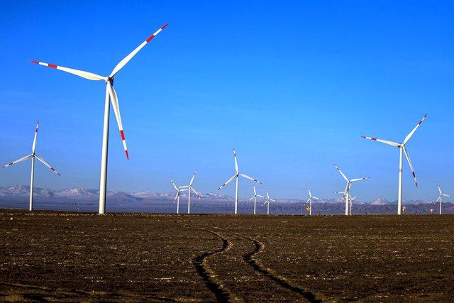 Energía eólica en Atacama