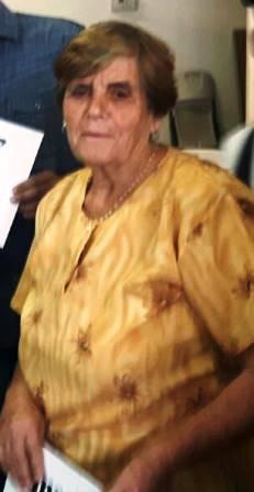 La señora Rosa Pereira