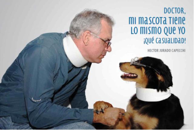 Doctor mi mascota tiene lo mismo que yo: ¡Qué Casualidad!