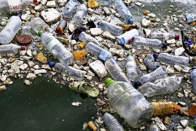 Plástico contaminante