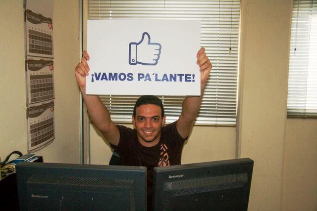 Fernando es una de esas personas constantes y buenas. que apoya a NIrma en su proyecto