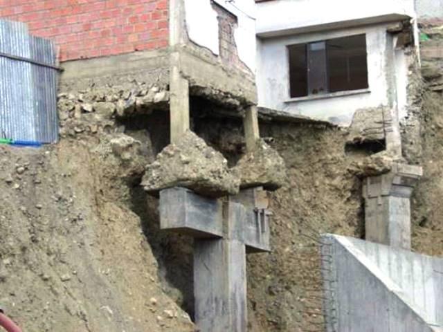 Vulnerabilidad de estructuras es un factor grave de riesgo